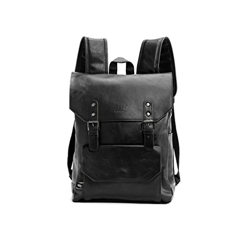 Backpacks Big Back Pack Black Books Bag Laptop Bagpack Men Leather Backpack Brown Sac Dos Homme Business Rucksack Travel Muchilas Hombre To Rank First Among Similar Products