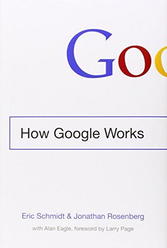 Buchseite und Rezensionen zu 'How Google Works' von Eric Schmidt