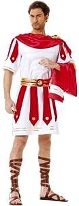 Cesar B352-004 - Disfraz de romano para hombre, talla 54-56