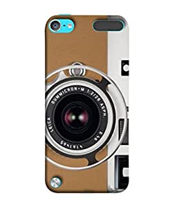FUSON Designer Back Case Cover for Apple iPod Touch 5 :: Apple iPod 5 (5th Generation) (Lecia Cam Photos Negatives Click Zoom Manual )