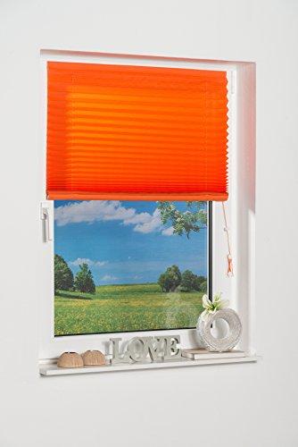 K-home Klebe-Plissee Terracotta Lichschutz 50 x 130 (B x L)