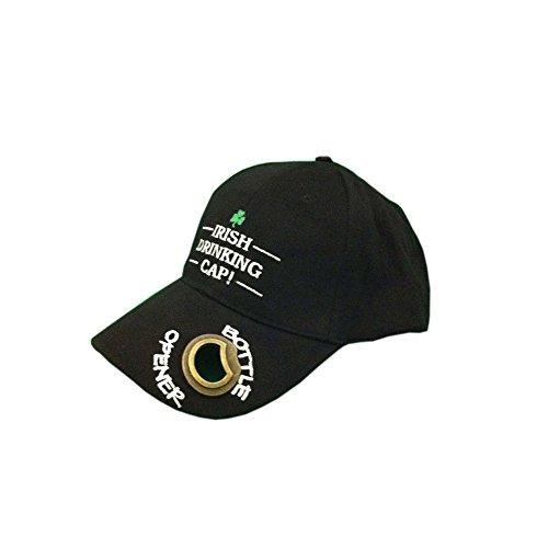 Schwarzes Baseball-Cap mit Schriftzug