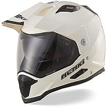 Dual Sport Aventura Enduro Casco de Motocross NENKI NK NK-313,Fibra de Vidrio