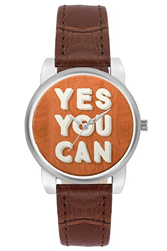 Women's Watch, BigOwl Yes You Can Designer Analog Wrist Watch For Women - Gifts for her dials