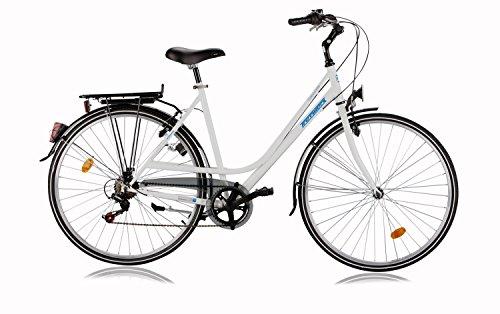 Tretwerk Urbano 28 Zoll Citybike Damen Weiß (2016)