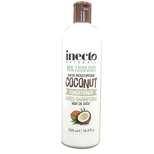 Inecto Naturals - Super Moisturising Coconut Conditioner - 500ml (Case of 6)