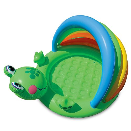 Intex Inflatable Froggy Pool, Multi Color