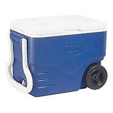 Coleman Unisex's 40QT Coolbox, Blue, 40 QT