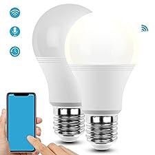 Smart WLAN LED Lampe ADUDS ist bestrebt, den Verbrauchern qualitativ hochwertige Produkte anzubieten, die Ihnen helfen, die Schönheit des Lebens zu genießen. Genießen Sie den Komfort der Technologie mit der smart WLAN LED Lampe.    Über Funktionen Fe...