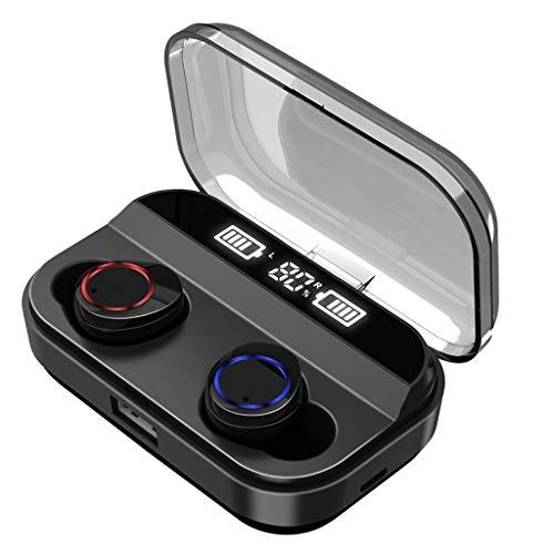 Jamicy® Bluetooth 5.0 Kopfhörer in-Ear, TWS Kabellos Kopfhörer, Stereo Wireless Earbuds, Wireless Sport Kopfhörer Damen Herren mit 2600mAh Ladebox, MIT Kopfhörer-Power Display (Mixed-akkus)