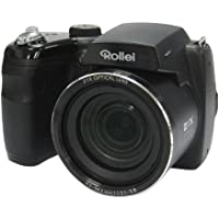 Rollei Powerflex Digitalkamera 210 HD (16 Megapixel, 21-fach optischer Zoom, 25 mm Weitwinkelobjektiv, HD Video, 7,62 cm (3 Zoll) Display) schwarz