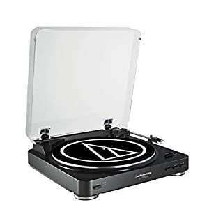 Audio-Technica AT-LP60BKU Fully Automatic Belt-Drive Stereo Turntable