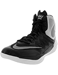 SHOWHOW Herren Fashionable Sportlich High Top Outdoorschuhe Basketballschuhe Rot 44 EU