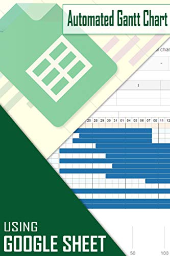 How to create Automated Gantt Chart using Google Sheet (English Edition)