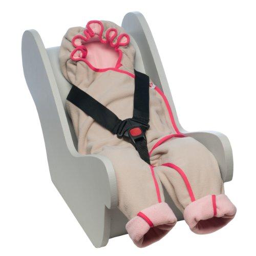 Lodger BLM546 Wrapper Motion Einwickeldecke und Spieldecke, baby pink
