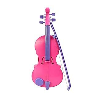 Atdoshop(TM) New Pink Magic Child Music Violin Children's Musical Instrument Kids Funny Gift Toy