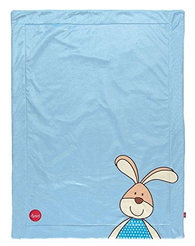 Preisvergleich Produktbild sigikid, Jungen, Kuscheldecke Hase, Semmel Bunny, Blau, 41555