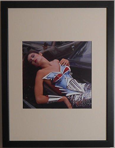 Montiert und gerahmt-Erotic Fashion Fotografie Bild-30cms x 40cms