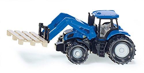 Siku 1487 Traktor mit Palettengabel und Palette