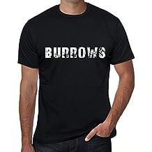 One in the City Homme T Shirt Graphique Imprimé Vintage Tee Burrows