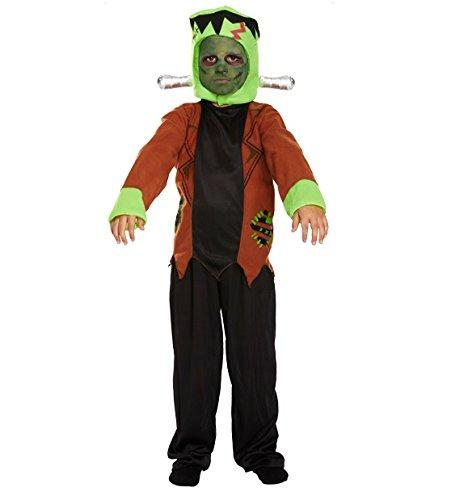 Jungen Monster Horror Halloween, Frankenstein Book Tag Kostüm Outfit (7-9 (Frankenstein Outfit)