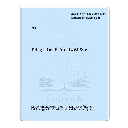 Telegrafie-Prüfsatz MPS 6
