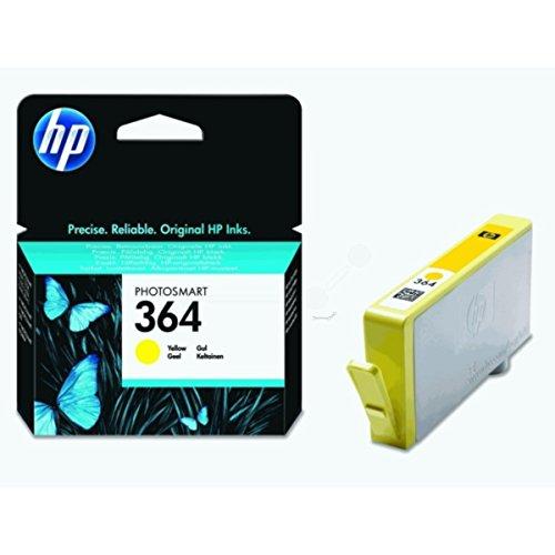 HP - Hewlett Packard PhotoSmart 5514 e-All-in-One (364 / CB 320 EE#301) - original - Tintenpatrone gelb - 300 Seiten - 3,5ml (Hp Photosmart 5514 Druckkopf)