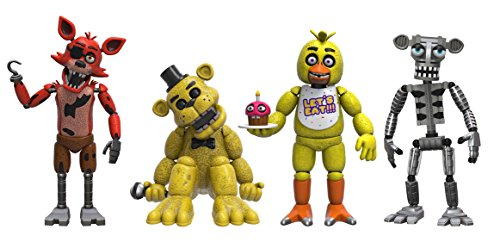 Funko 8863 - Five Nights at Freddys - Vinyl Figuren Set, 5 cm, Pack of 4  - 5 Nächte Bei Freddy's Kostüm Kinder