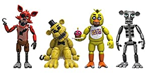 Five Nights at Freddys Pack de 4 Figuras Set (2
