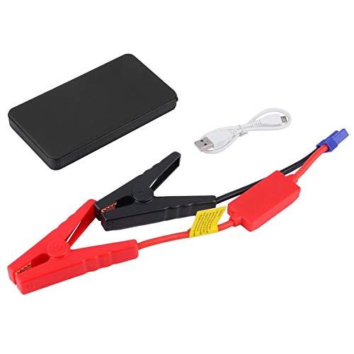 Harlls 12V 20000mAh Mini Voiture Multifonctions Portable Jump Starter Power Booster Chargeur de Batterie Chargeur de démarrage d'urgence - Noir