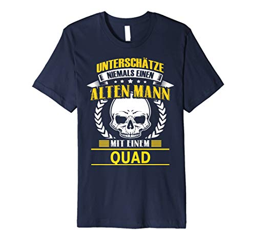 Herren quad geschenk t shirt