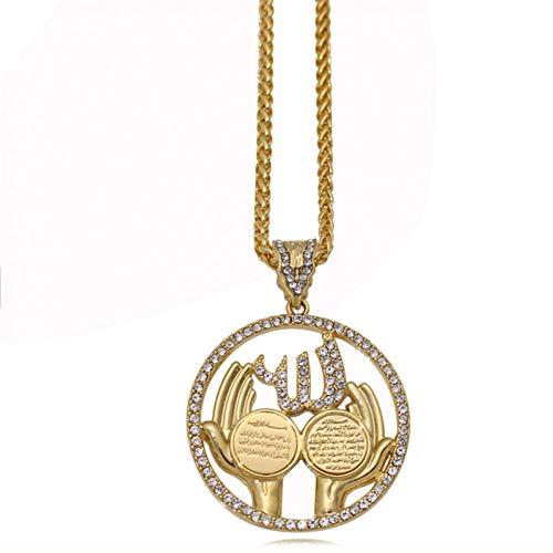 YANOAID Anhänger Halskette Surah Muslim Quran (Quran Halskette)