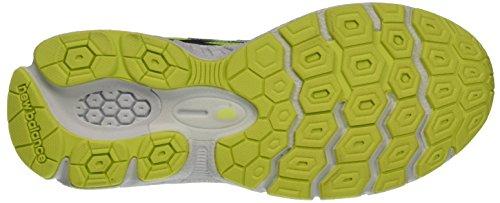 New Balance Nbkj880gyg, Scarpe da Ginnastica Unisex – Bambini Grigio (Grey Yellow)