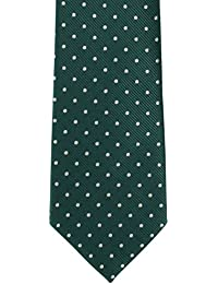 Classic Spot Polyester Tie by Michelsons of London