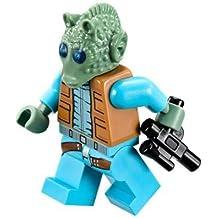 LEGO Star Wars 75052, Minifigura de Greedo con pistola blaster