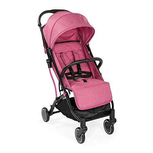 Chicco TrollyMe - Silla de paseo compacta tipo trolley, con asa para transporte, color rosa Lollipop...