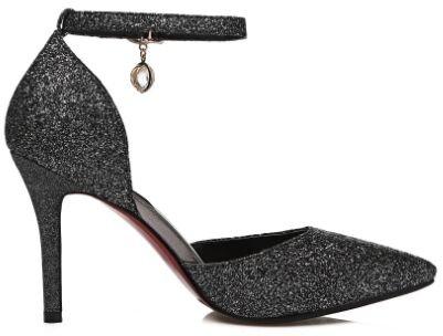 Laruise - Strap alla caviglia donna Nero
