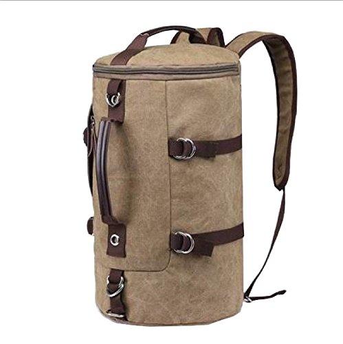 LAIDAYE Außentaschen Reisetaschen Einkaufstaschen Bulk Taschen Handtaschen Schultertaschen Messenger Bags Sporttaschen Beige