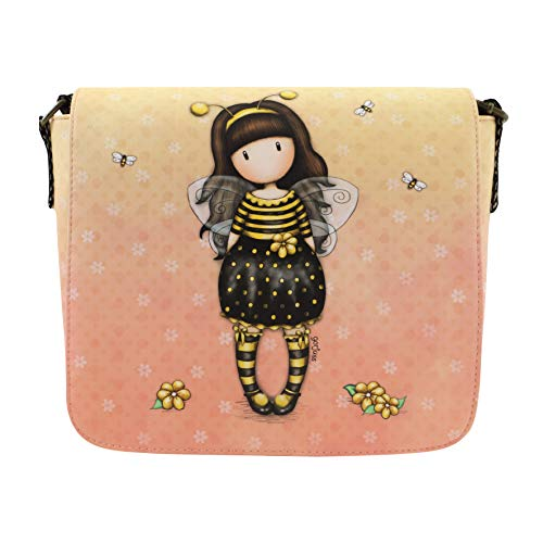 Santoro Gorjuss Cross Body Bag - Bee Loved Just Bee-Cause