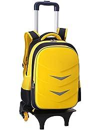 af40050f01 Borsa Trolley Grande Capacità Boy Girl Studente Scuola Primaria ABS + PC  Zaino Staccabile Trolley A
