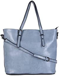 URBANTRA Simple Magic Women's Shoulder Bag BLUE (UBT-1-1-2017BL)
