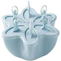 SHEDEU Creativo DIY Lattice helado amapolas molde helado crema casera sorbet hielo cubierta Frozen Popsicle Box 8 piezas/set