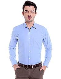 Donear NXG Mens Formal Shirt_SHIRT-1334-BLUE