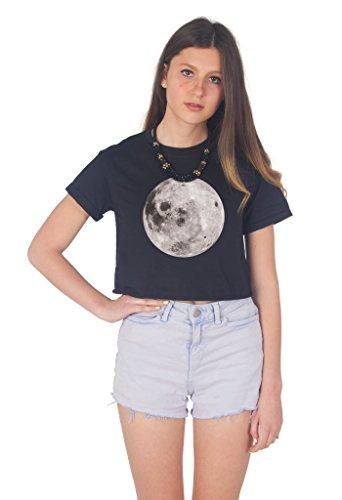 Sanfran Clothing Damen T-Shirt Schwarz