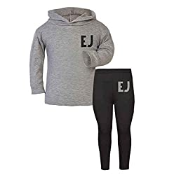 Personalised Initial Children's Lounge Set Kids Toddler Wear Personalised Toddler Personalised Kidswear Matching Toddler Sets