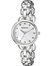 (CERTIFIED REFURBISHED) Bulova  Analog Mother of Pearl Dial Women's Watch - 96L204