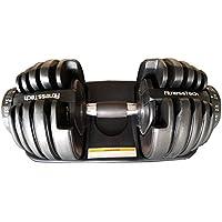 Fitness–Pesas Tech Ajustable   Adjustable Dial Dumbbell   24Kgs   eficiente y Ahorra Espacio