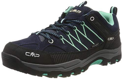 CMP Unisex-Erwachsene Rigel Low Trekking- & Wanderhalbschuhe, Blau (B.Blue-Aqua Mint 12nd), 39 EU