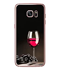 PrintVisa Wine With Friends High Gloss Designer Back Case Cover for Samsung Galaxy S7 :: Samsung Galaxy S7 Duos :: Samsung Galaxy S7 G930F G930 G930Fd