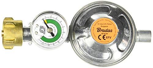 Bradas RG A310IE-002-M Gasdruckregler, mehrfarben, 15 x 8 x 6 cm (Propan-gas-grill Schlauch)